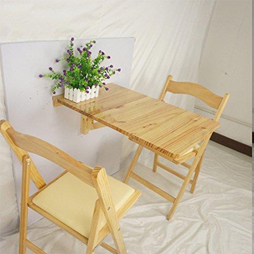 Tavolo pieghevole da parete in legno massello Tavolo pieghevole da ...