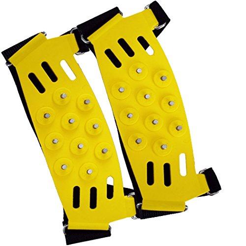 Soins de sécurité Big Foot Glace griffes crampons Snow & Ice Traction automatique