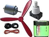 Frühes Forschen Electronic Plus 2 - elektronische Grundbauteile inkl. Mini-Motor, Luftschraube und Schalter (6-teilig)