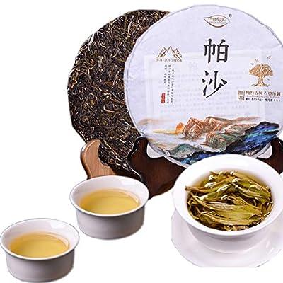 Thé Pu'er chinois 357g ?(0,788LB) Thé cru Puer Thé vert Yunnan Pasha Cake Tea Vieux thé Pu-erh vieux arbres Thé Pu Erh Soins de santé Pu er tea Santé Thé vert Puerh Nourriture verte