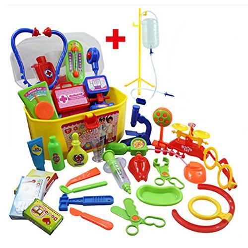 Rollenspiel / Arzt Spielzeug Medizin-Schrank-Sets für Kinder Kinder Doktor Kit/Zufällige Farbe (Kind Arzt Kit)