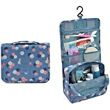 PETRICE Portable Hanging Toiletry Bag Travel Organizer Cosmetic Bag For Women & Men Kit with Hanging Hook (Colour May Vary)
