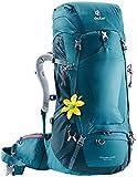 Deuter Damen Futura Vario 45 + 10 SL Rucksack, Denim-Arctic, 74 x 32 x 30 cm, 55 L