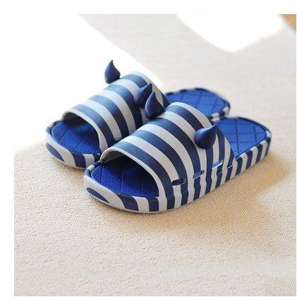 DogHaccd pantofole,Pantofole estate pantofole uomini e donne, en-suite bagno antiscivolo bella spessa morbida, soggiorno di un paio di pantofole di plastica Blu scuro1