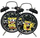 Die besten SpongeBob Wecker - Spongebob Schwammkopf Wecker - aus Metall, mit wechselndem Bewertungen