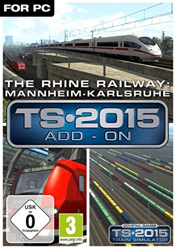 The Rhine Railway Mannheim Karlsruhe Route AddOn