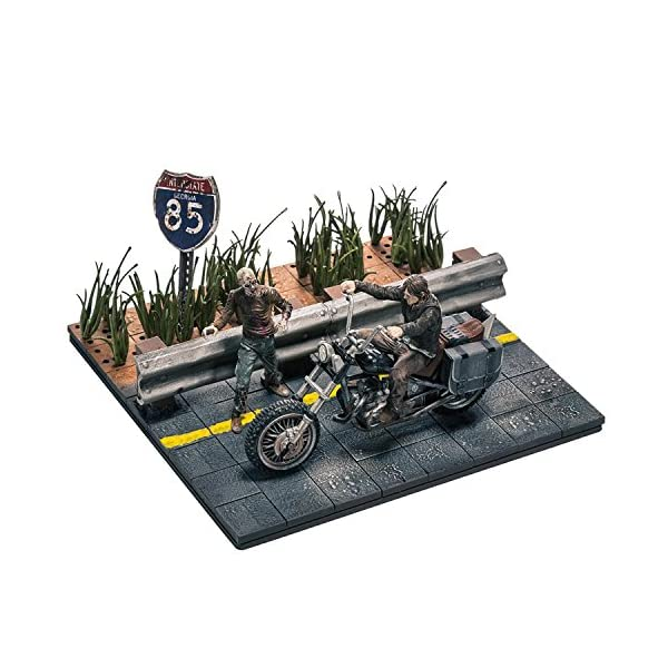 Walking Dead Tv Building Set Daryl Dixon 1