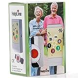 """""""Helpline 1.0"""" Pflegeruf-Set / Hausnotruf / Senioren-Hausalarm mit mobilem Empfänger und Funk-Armband-Sender. Quittierungsfunktion."""