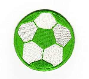 Écusson bügelbild patch iron on patchs motif ballon de football motif ballon de football pour enfant