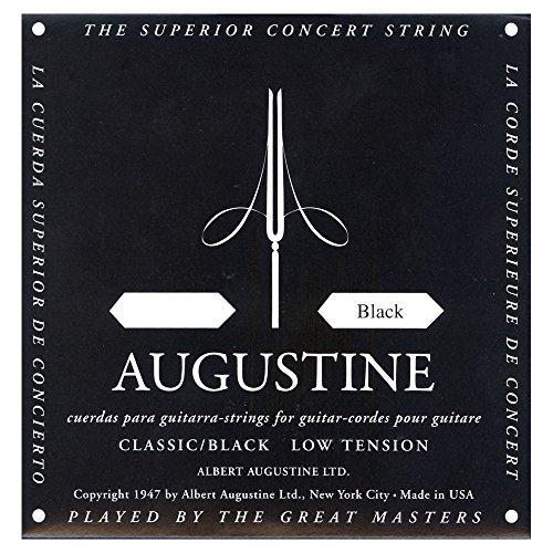 Augustine 650404 Black Label Saiten für Klassik Gitarre - D4