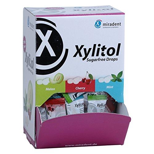 Miradent Xylit-Bonbons - Schüttbox (100 Stück) -