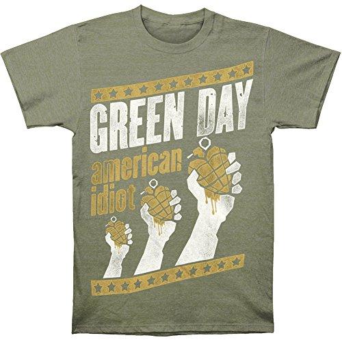 Green Day - Herren-Handout T-Shirt Army