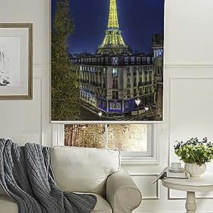 Veilleuse lumineuse Effel Tour Eiffel-Paysage de store enrouleur