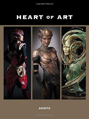Heart of Art: Welcome to a Small Glimpse Into the Grand World of Special Effects Makeup and Fine Art of Akihito por Akihito Ikeda