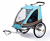 Blue Bird Dual Kinderanhänger 2 in 1 Alu 65961BL...