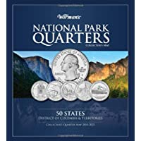 Warman's National Park Quarters Collector's Map 2010-2021: 50 States District of Columbil &