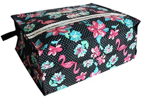 Borsa mare Gian Marco Venturi l.fiori donna moda mare 43421 nero