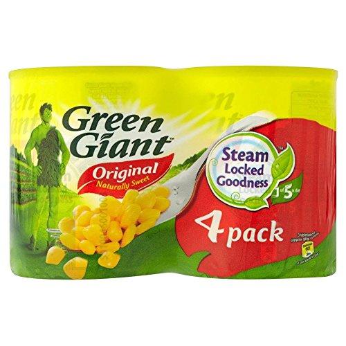 Vert Niblets géants origine Maïs doux (4x198g) - Paquet de 2