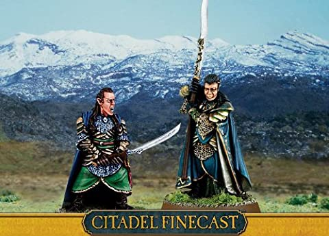 Gamesworkshop - Finecast - ELROND ET GIL-GALAD