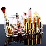 Kairos Acrylic Makeup Cosmetics Organizer Premium Display Lipstick Organiser - 16 Sections