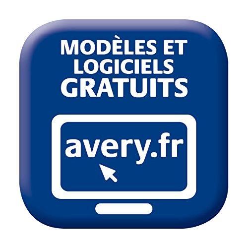 Avery L7565-25 Quickpeel Etichette, 8 Pezzi per
