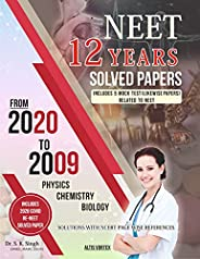 NEET 12 YEARS SOLVED PAPERS