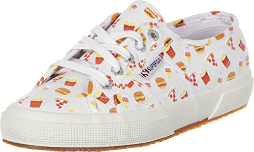Superga 2750 Tres Click W Fast Food White