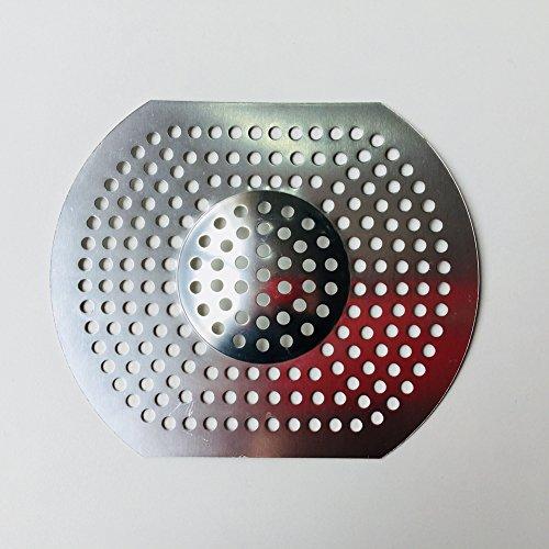 ZAK168 Abflusssieb, groß, Aluminium, für Küche/Badezimmer, Abflusssieb, Silber, Free Size