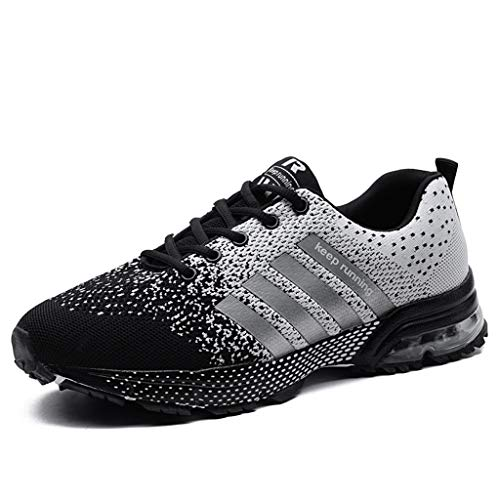 new product 3e3c5 a0637 Uomo Donna Scarpe da Ginnastica,POLPqeD Gradient Colore Air Running  Sneakers Corsa Sportive Fitness Shoes