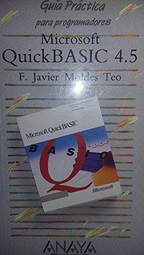 Microsoft quickbasic 4.5 por F. Javier Moldes Teo