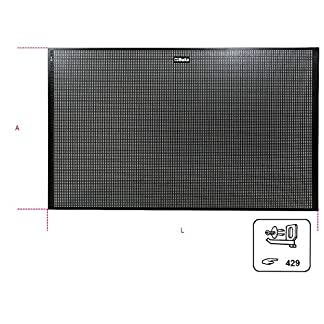 Beta 088880010 – Pv1-Panel Porta-Herramientas De Pared