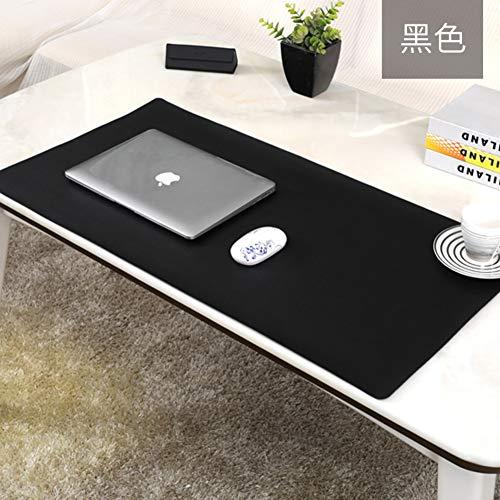 JiaQi Office Tischmatte Leder Mauspad,Premium Leder Computer Mousepad,Ultra Dünne Spiele Tastatur Pad Matte Für Büro Und Zu Hause-a 70x35cm(28x14inch) (Tastatur-handgelenkauflage 14 Zoll)