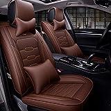 Coprisedili per auto adatti per Chevy Impala Malibu Nissan Altima Murano Hyundai Sonata Vw Jetta Passat,A