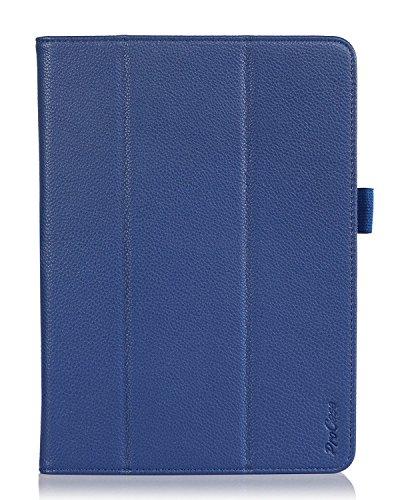 ProCase Schutzhülle für Samsung Galaxy Tab Pro 10.1 Zoll (25,7 cm), inkl. Stylus-Stift - Tri-Fold Smart Cover Stand Case für Galaxy TabPRO SM-T520 / T525 blau