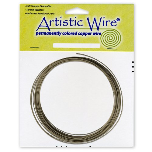 Artistic Draht 16 Gauge Draht, antik Messing, 3 m wahr (Messing 16-gauge Draht)