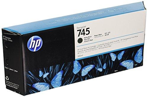 Hewlett Packard 936573 Cartouche d'encre d'origine compatible avec Imprimante DesignJet Z2600 24-in PostScript/DesignJet Z5600 44-in PostScript Noir