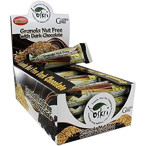 Oskri - glutine gratuito Granola Bar dado libero Dark Chocolate - 20 bar