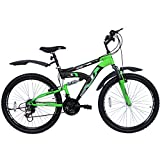 Hero Octane Mercury V1 21 Speed Gear Bicycle - 26'(Green/Black)