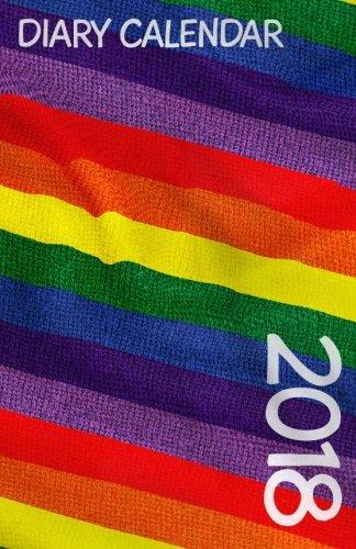 Diary Calendar: Rainbow