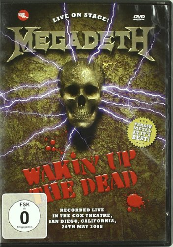 Megadeth - Wakin' Up The Dead - Dvd