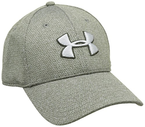 Under Armour Herren Heather Blitzing Cap Kappe, Grau Artillery Green
