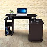 Royal Oak Cathy Computer Table (Black)