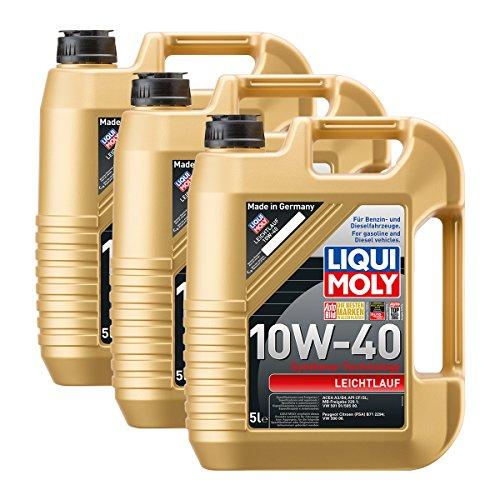 Preisvergleich Produktbild 3x LIQUI MOLY 1310 Leichtlauf 10W-40