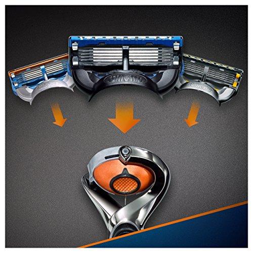 Gillette Fusion Proglide Flexball Rasoio da Uomo – 1 Manico + 1 Lametta - 6