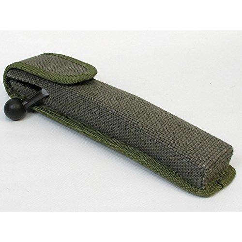 Afeitadora BLASER Recto tornillo Portador - color verde - llevar su rifle tornillo seguro, it puede ser adjunto a un cinturón de, completo EVA carcasa moldeada protege de la golpes y la suciedad - 25cm longitud