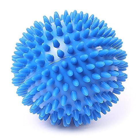 66fit Spiky 10cm Hard Massage Ball x 1pc - Trigger Point Reflexology Stress Release