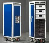 Nonstop Furniture Flugzeugtrolley Blau Neu Flight Airline Trolley Blue New