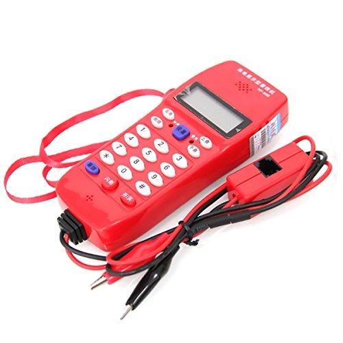 Preisvergleich Produktbild nf-866Kabel Tester Telefon für Telefon, Telekommunikation, kariert DTMF Rufnummernanzeige, automatische Erkennung