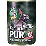 Schecker Dogreform Kaninchen Pur 24 x 410g getreidefrei glutenfrei aus frischem Fleisch und wertvollen Innereien Wie Leber Lunge Magen