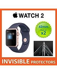 2de la serie Apple Watch 42mm iWatch Protector de pantalla por supremo escudos–grado militar protección paquete de 2